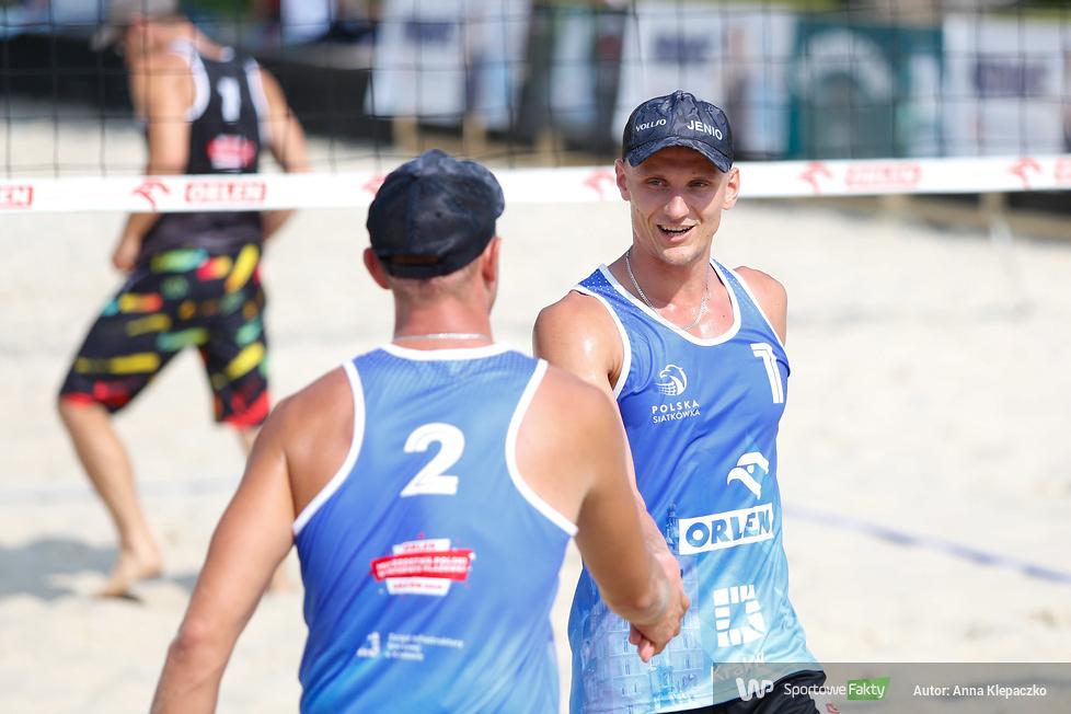 ORLEN Mistrzostwa Polski w siatkówce plażowej Kraków 2018 - dzień 3 - turniej męski (galeria)