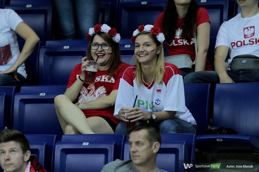 Kibice na I meczu Polska - Belgia (galeria)