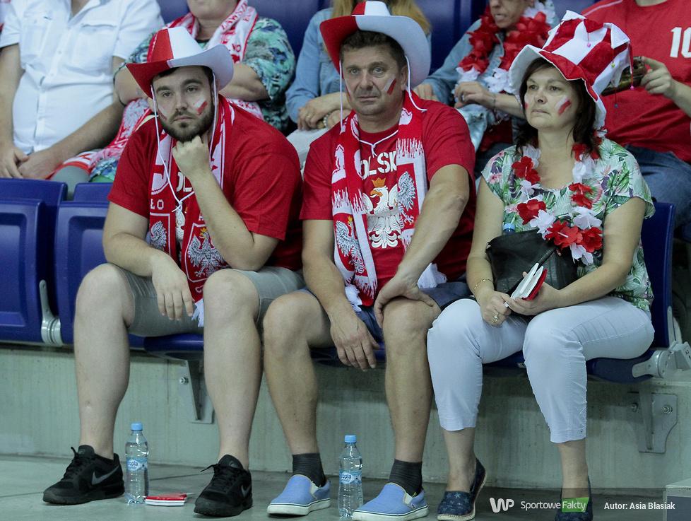 Kibice na II meczu Polska - Belgia (galeria)