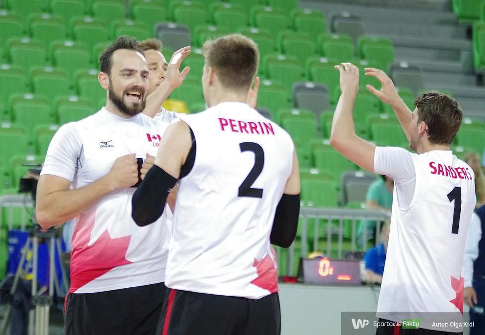 Ljubljana Volleyball Challenge: Słowenia - Kanada 3:1 (galeria)