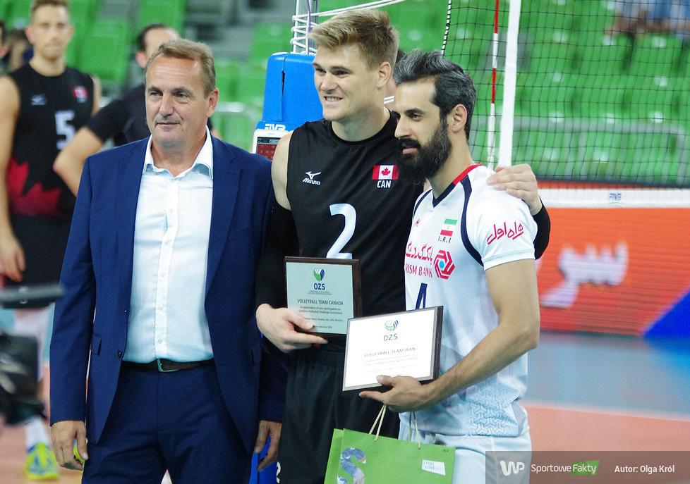 Ljubljana Volleyball Challenge: Kanada - Iran 3:2 (galeria)