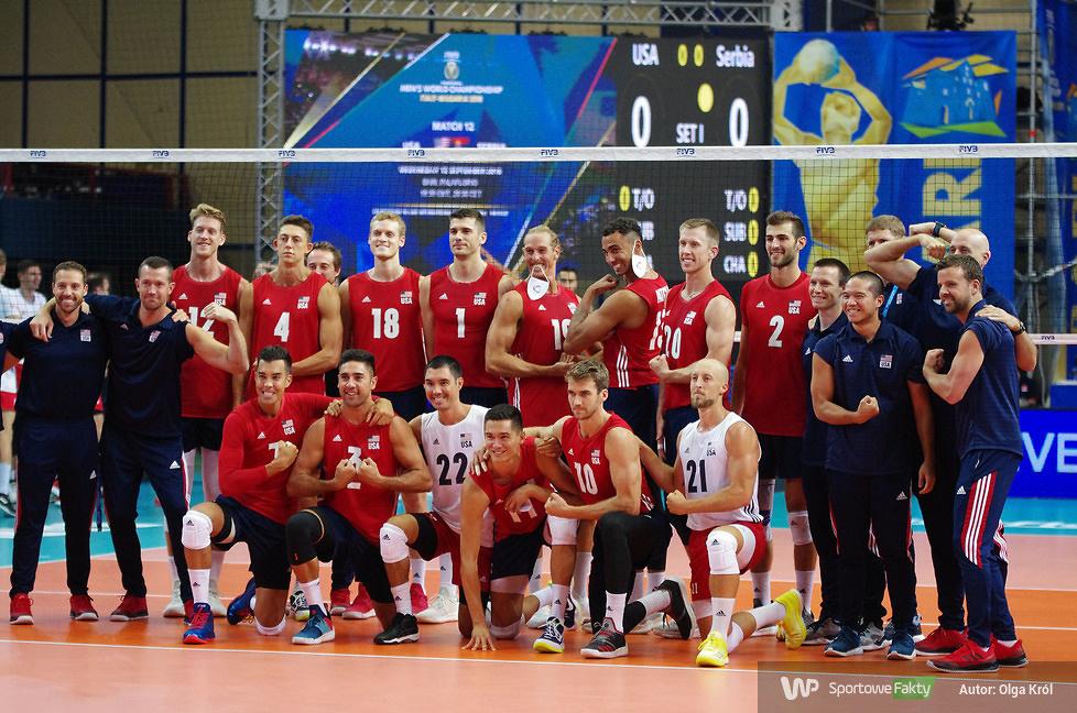 MŚ 2018: Stany Zjednoczone - Serbia 3:2 (galeria)