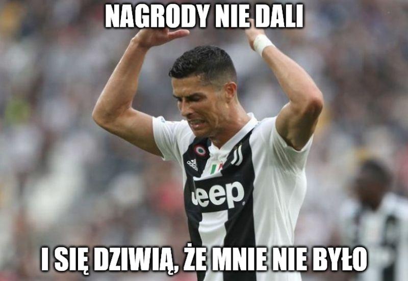 Po gali FIFA w sieci zawrzało. Zobacz najlepsze memy (galeria)