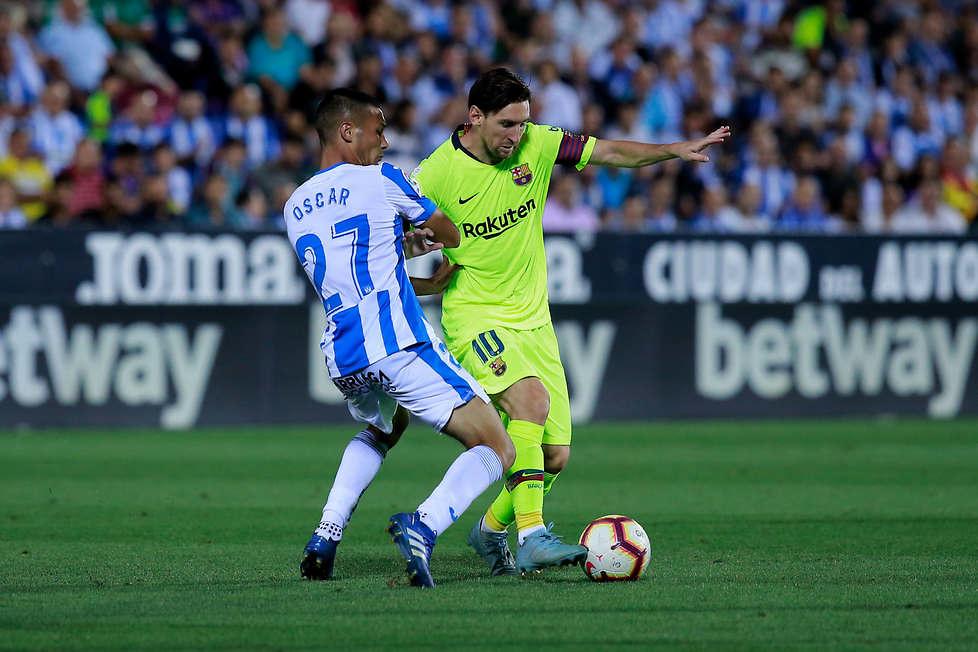 Łapał się za twarz i spuszczał głowę. Messi był rozczarowany postawą drużyny