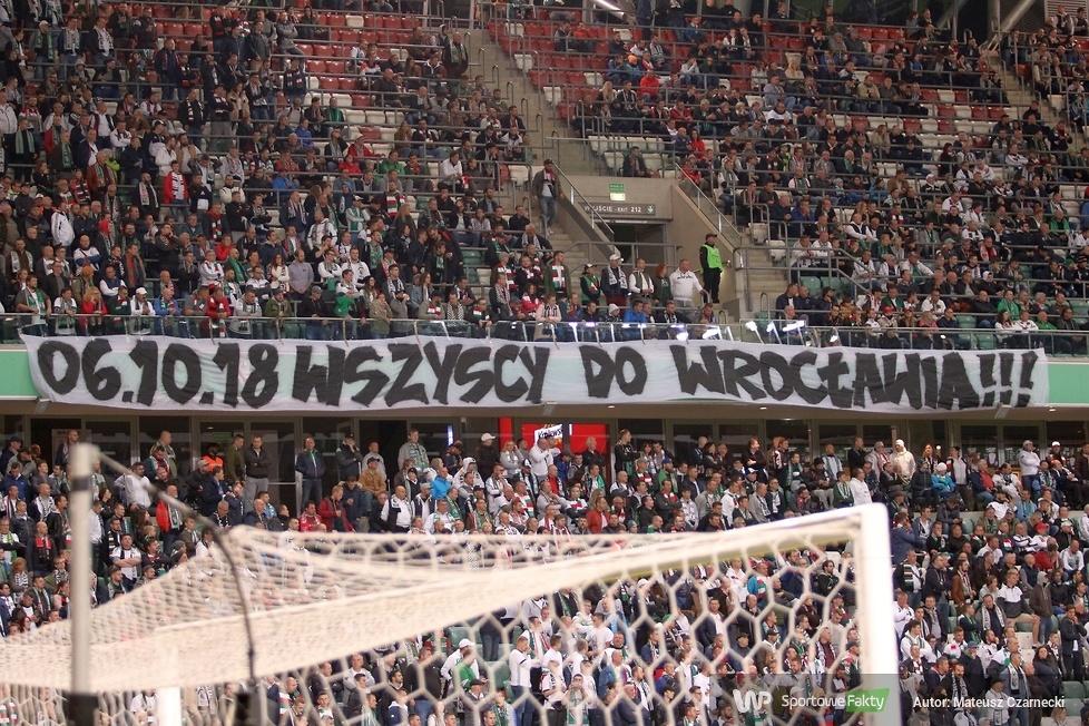 Kibice podczas meczu Legia Warszawa - Arka Gdynia 1:1 (galeria)