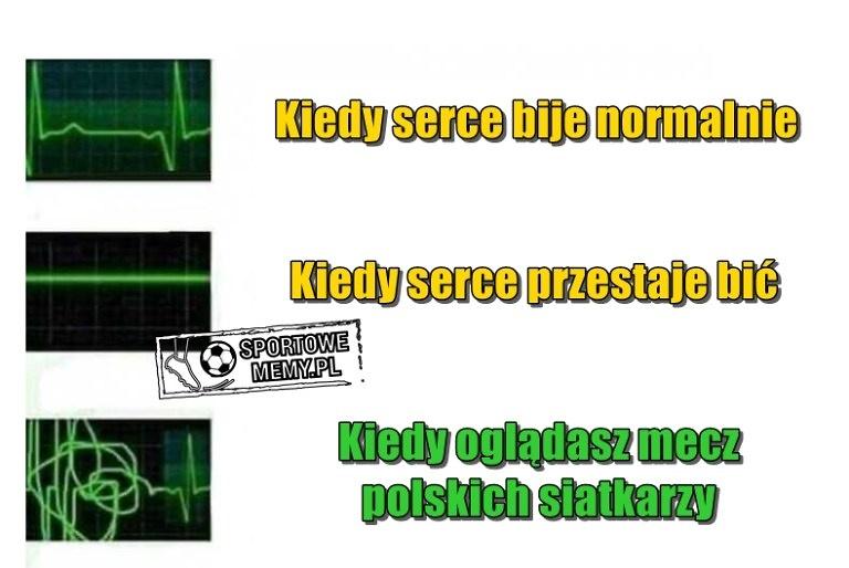 MŚ 2018. Kurek siał postrach, a Polacy walczyli jak lwy. Memy po meczu Brazylia - Polska