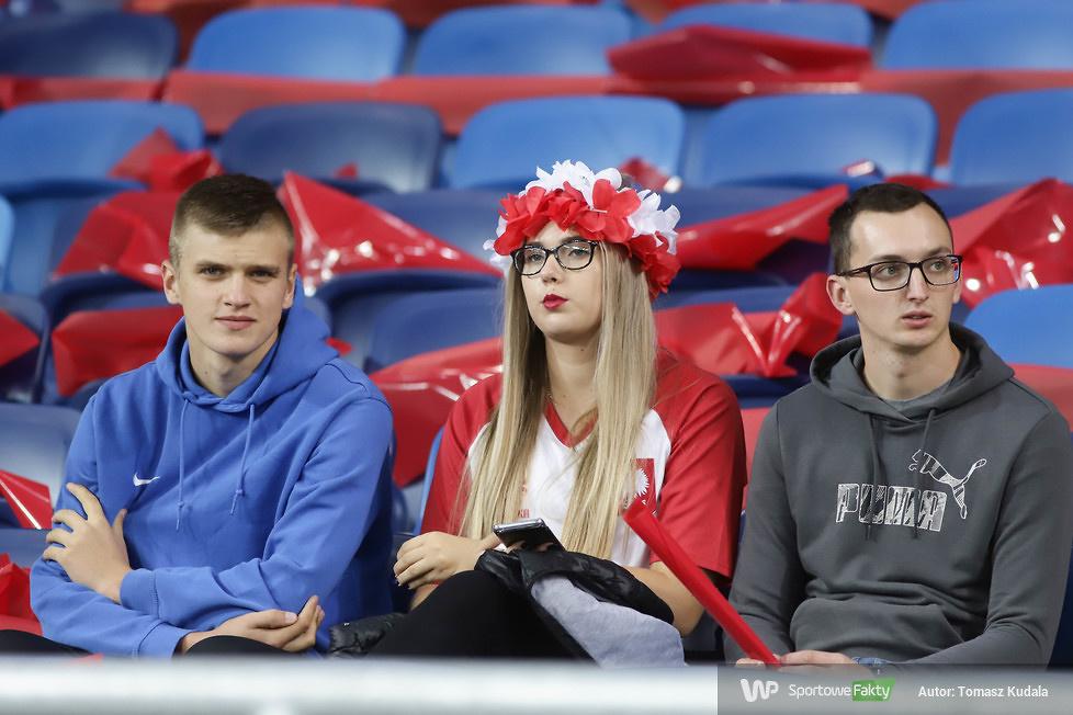 Liga Narodów. Kibice w trakcie meczu Polska - Włochy (galeria)