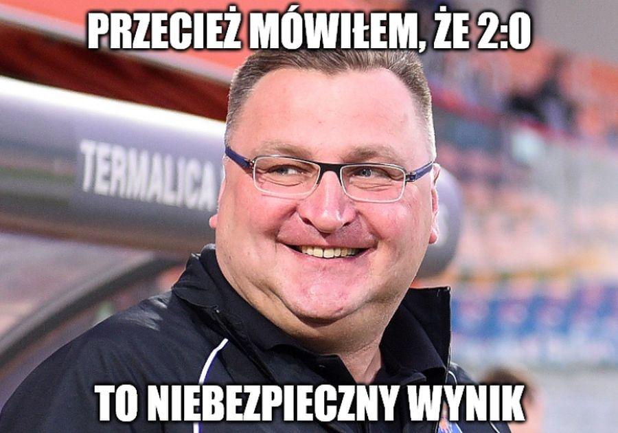 Michniewicz ostrzegał. Memy po nieprawdopodobnym meczu Legia - Wisła