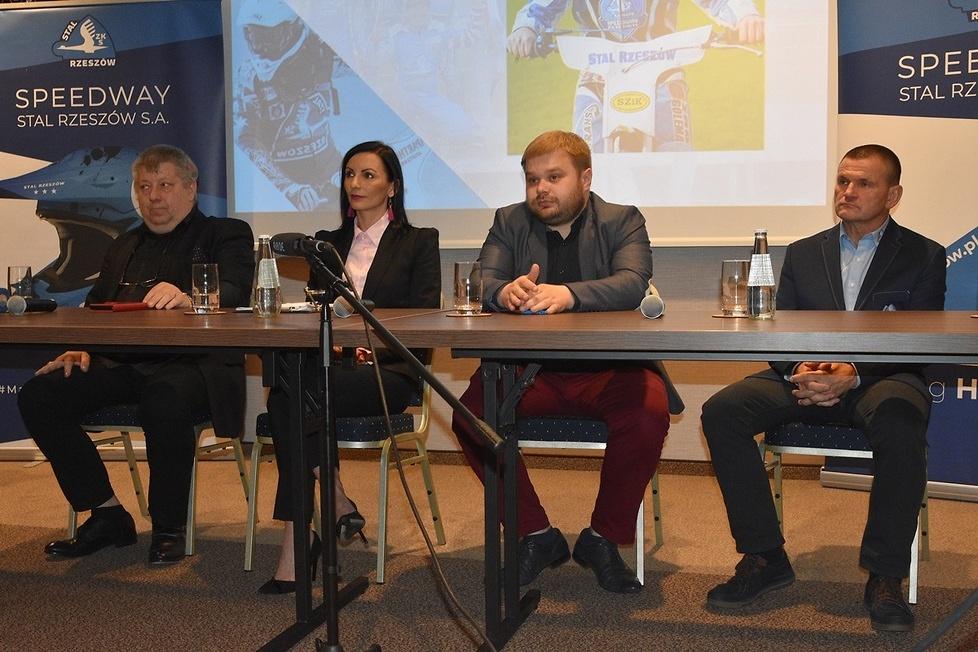 Konferencja prasowa Speedway Stali Rzeszów - Odkrywamy karty (galeria)