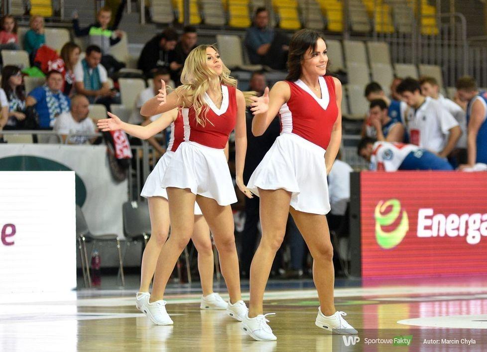 Cheerleaders Koszalin podczas meczu AZS Koszalin - Anwil Włocławek (galeria)