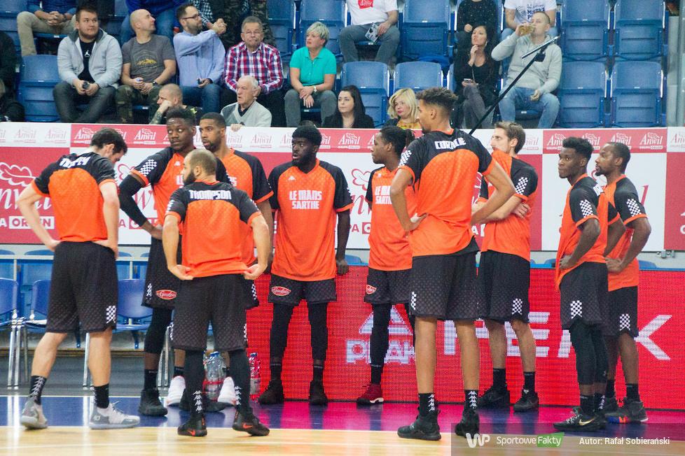 Anwil Włocławek - Le Mans Sarthe Basket 76:64  (galeria)