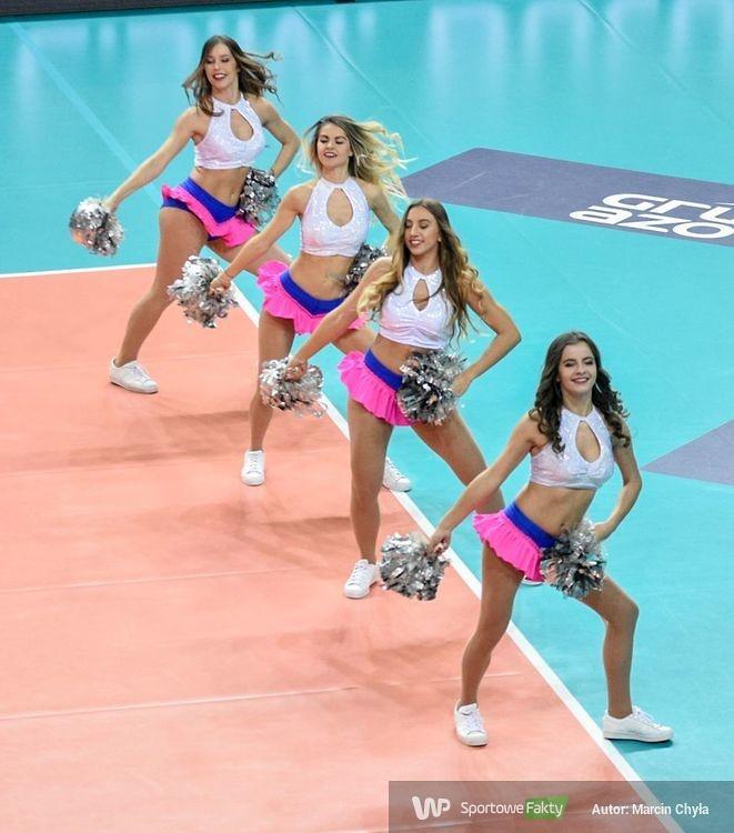 LM : Cheerleaders Sopot Flex Dance na meczu Chemik Police - C.S.M. Bukareszt (galeria)