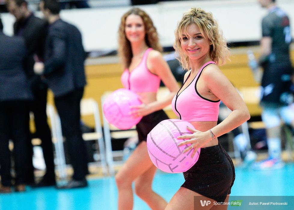 Cheerleaders Soltare tańczyły w Olsztynie na meczu Pucharu CEV (galeria)