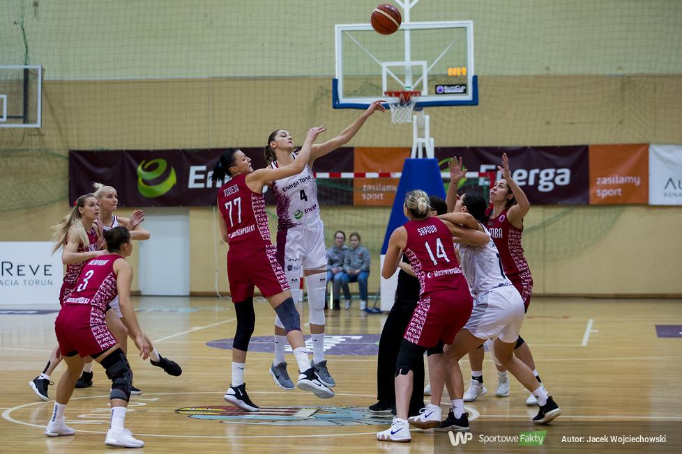 EuroCup Women: Energa Toruń - MBA Moskwa 95:86 (galeria)