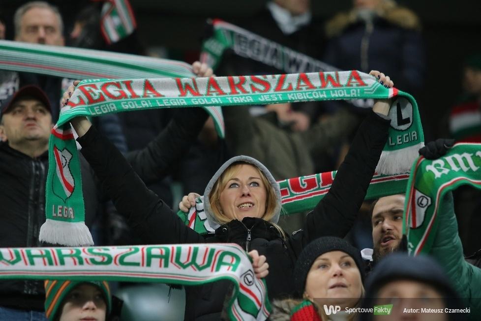 Kibice podczas meczu Legia Warszawa - Korona Kielce (galeria)