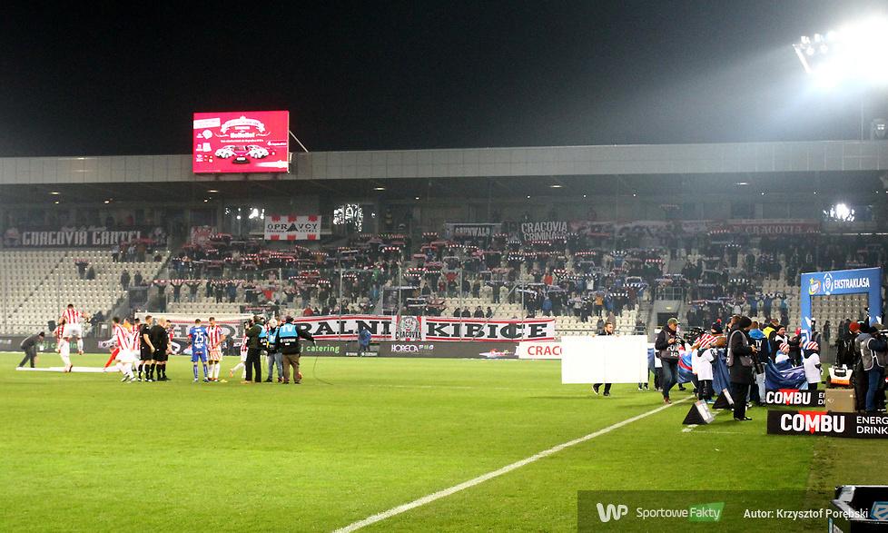 Kibice podczas meczu Cracovia - Lech (galeria)