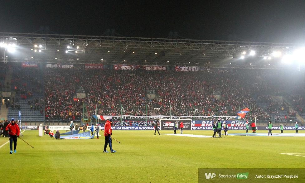 Kibice podczas meczu Wisła Kraków - Lech Poznań (galeria)
