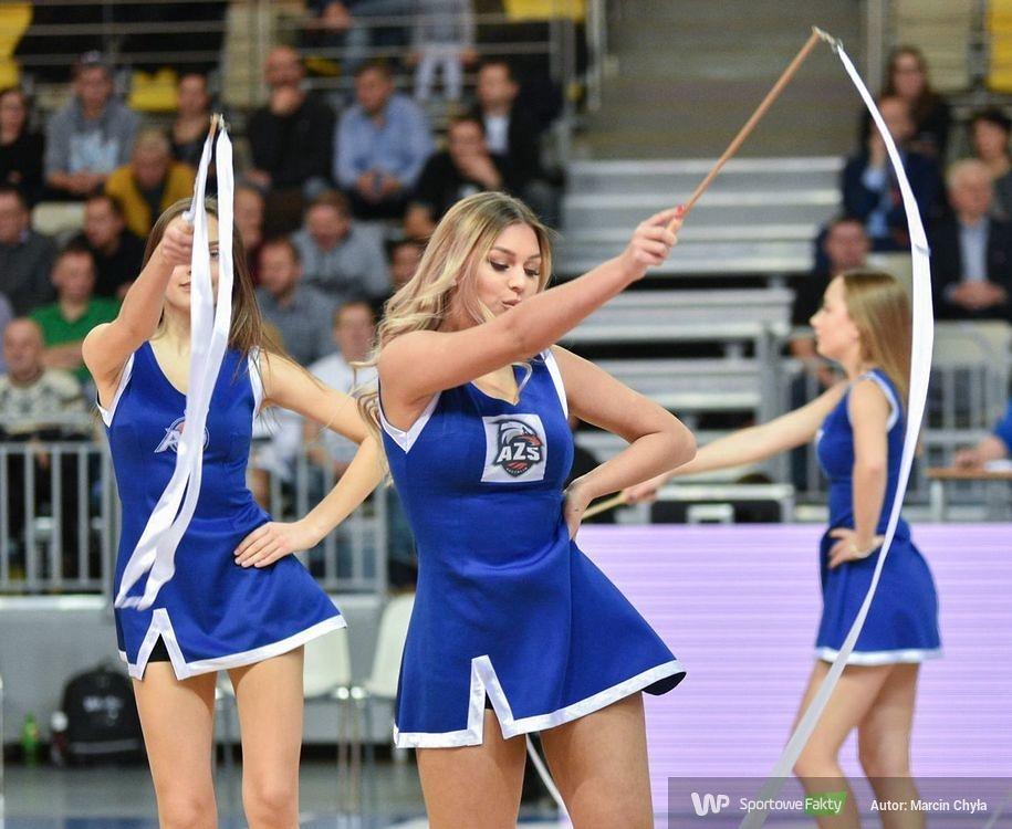 Cheerleaders Koszalin podczas meczu AZS - Miasto Szkła Krosno (galeria)