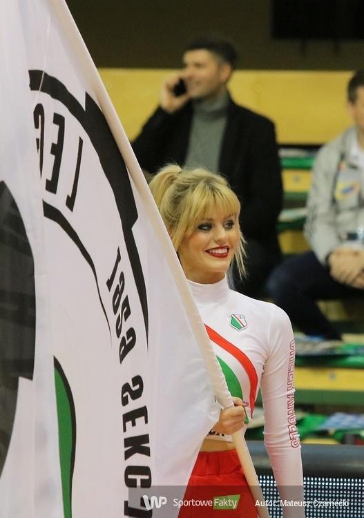 Cheer Angels Cheerleading Academy na meczu Legia Warszawa - Stelmet Enea BC Zielona Góra (galeria)