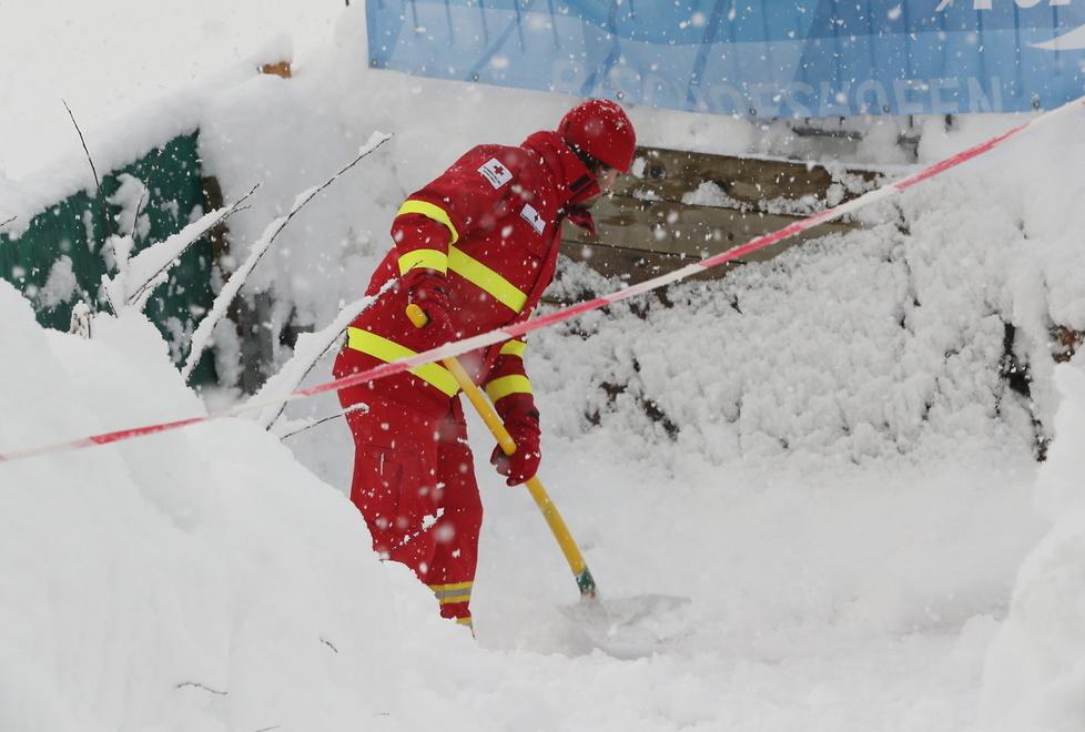 67. TCS: śnieżny armagedon w Bischofshofen. Trening i kwalifikacje przeniesione (galeria)