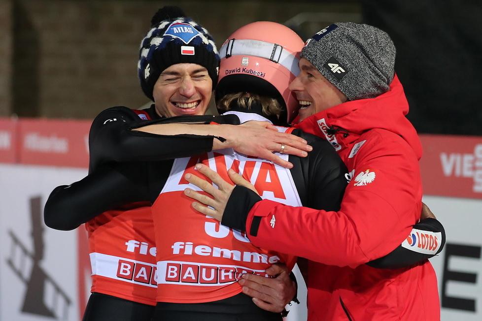 PŚ w Predazzo: Kubacki z pierwszym zwycięstwem w karierze! Stoch też na podium (galeria)
