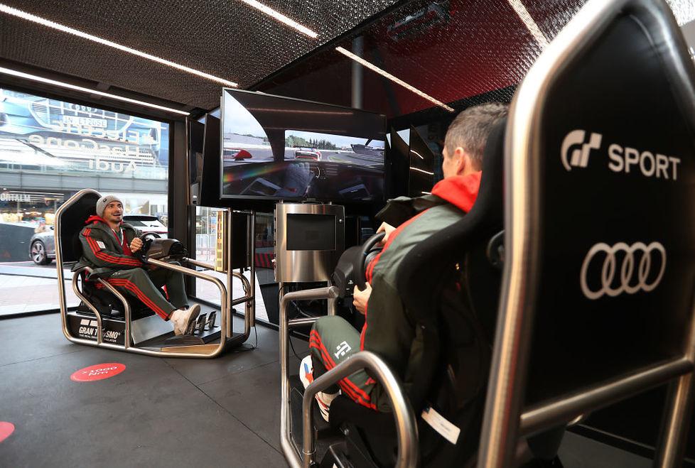 Robert Lewandowski i spółka testowali nowe Audi. Bayern sprawdził elektrycznego SUV-a