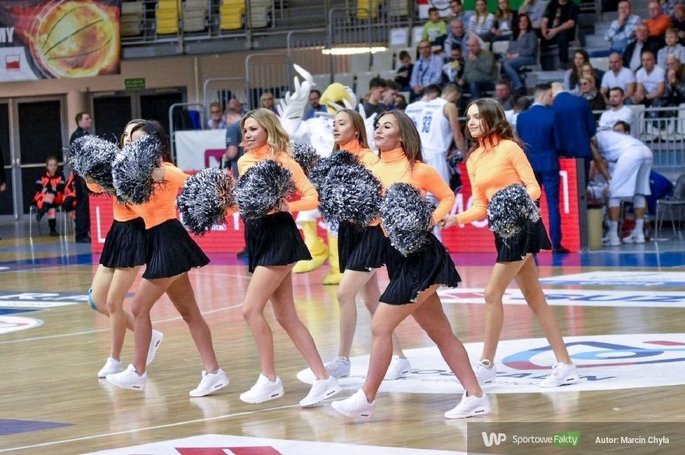 Cheerleaders Koszalin podczas meczu AZS - GTK Gliwice (galeria)