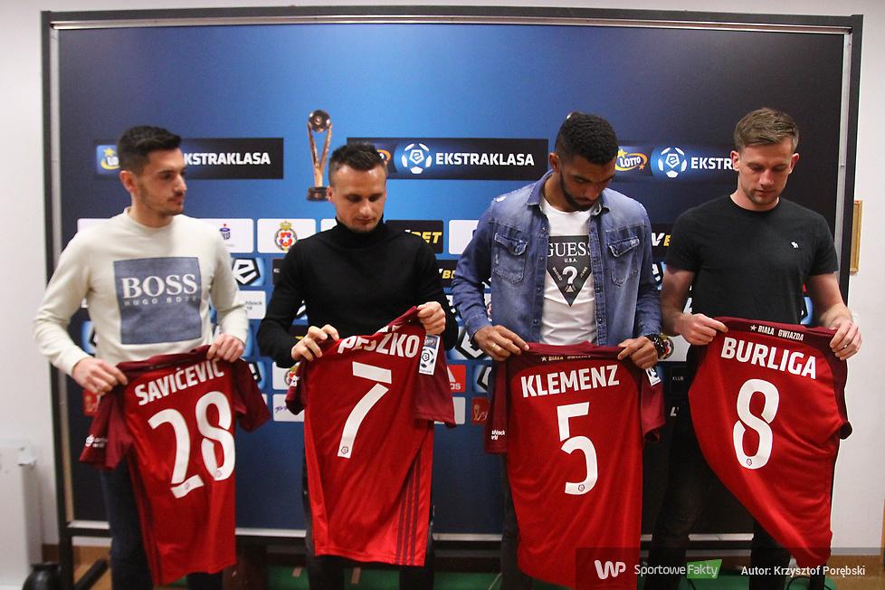 Wisła Kraków zaprezentowała nowych zawodników (galeria)
