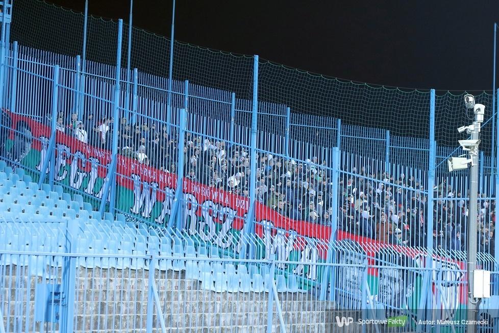 Kibice podczas meczu Wisła Płock - Legia Warszawa (galeria)