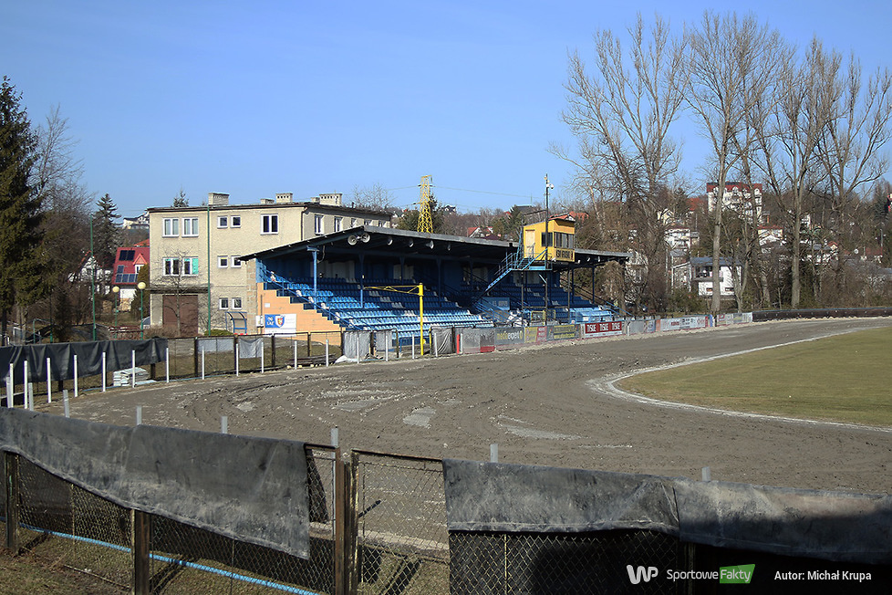 Prace na stadionie w Krośnie (galeria)