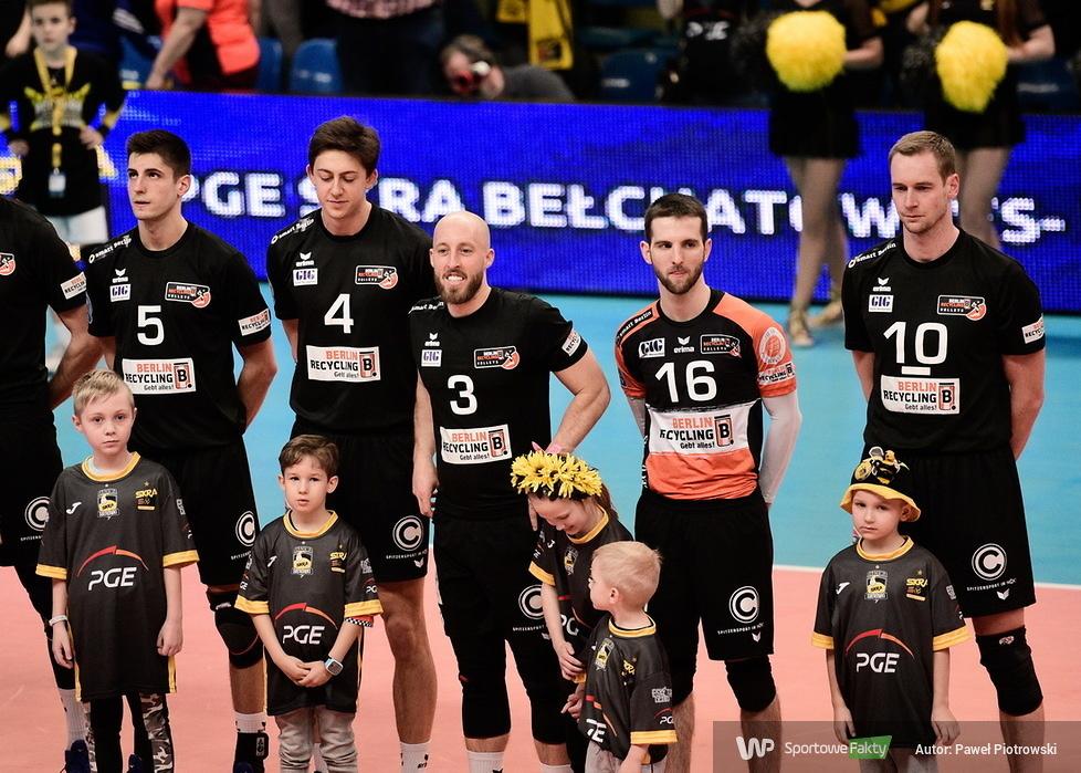 Liga Mistrzów: PGE Skra Bełchatów - Berlin Recycling Volleys 3:0 (galeria)