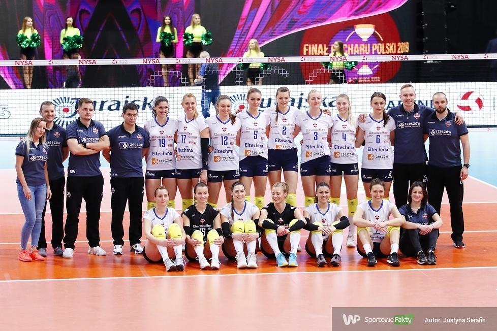Puchar Polski: Developres SkyRes Rzeszów - ŁKS Commercecon Łódź 3:1 (galeria)