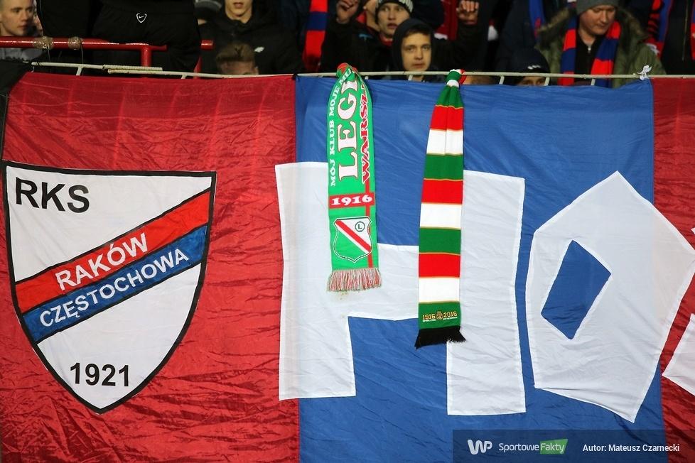 PP: kibice podczas meczu Raków Częstochowa - Legia Warszawa (galeria)