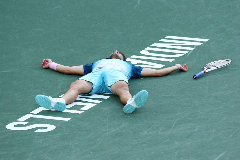 Dominic Thiem lepszy od Rogera Federera. Austriak podbił Indian Wells (galeria)