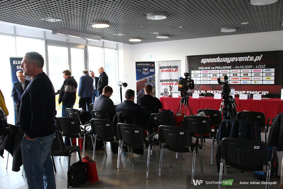Konferencja przed meczem Północ - Południe (galeria)