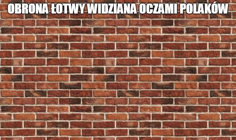 El. ME 2020. Polska - Łotwa. Bicie głową w łotewski mur. Zobacz memy po meczu