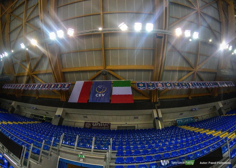 Liga Mistrzów: Cucine Lube Civitanova - PGE Skra Bełchatów 3:0 (galeria)