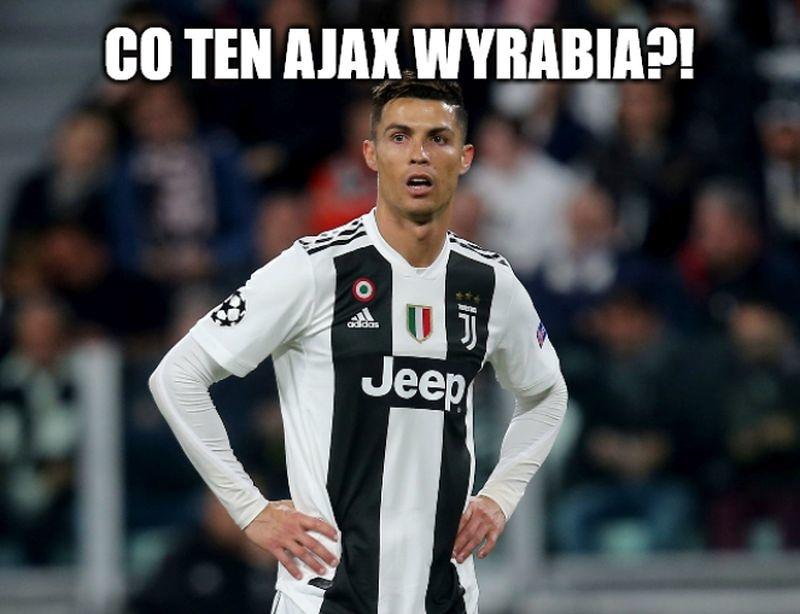 Liga Mistrzów 2019. Zszokowany Ronaldo, ośmieszony De Gea. Memy po ćwierćfinałach