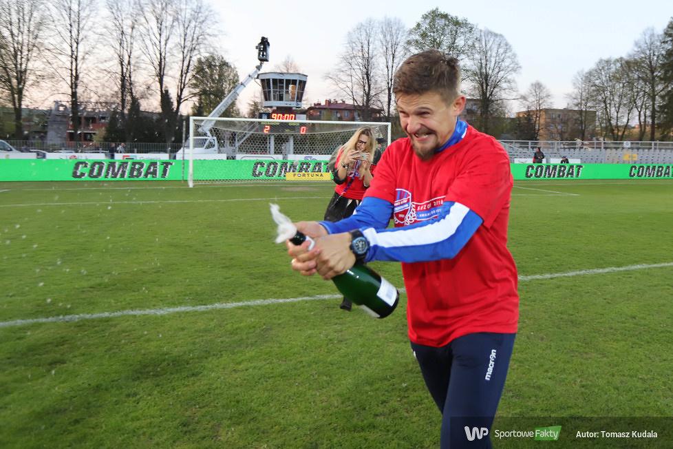 Feta  Rakowa Częstochowa po awansie do Lotto Ekstraklasy (galeria)