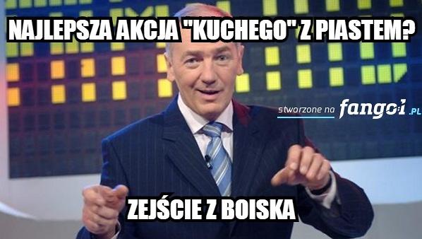 Lotto Ekstraklasa. Legia Warszawa - Piast Gliwice. Waldek King triumfuje. Zobacz memy!