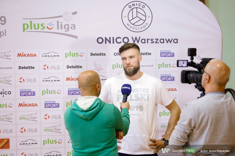 ONICO Warszawa: dzień medialny i mecz z klubem kibica (galeria)