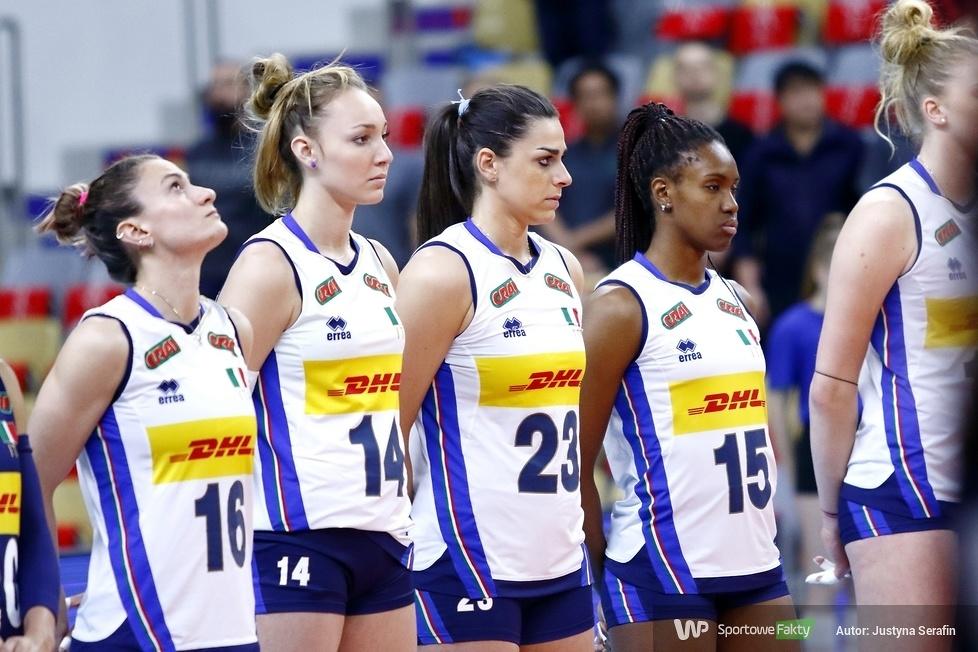 Liga Narodów kobiet:  Włochy - Niemcy 3:0  (galeria)