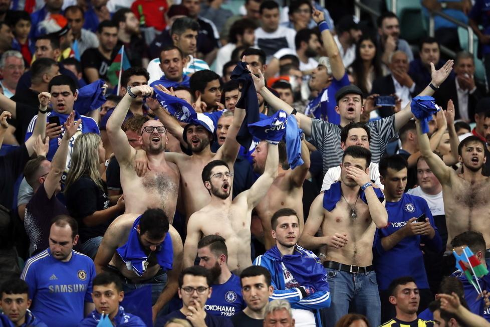 Liga Europy 2019. Wielka radość w Chelsea. Feta nie miała końca (galeria)