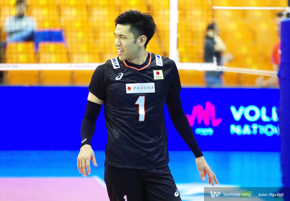 Liga Narodów: Japonia - Rosja 1:3 (galeria)
