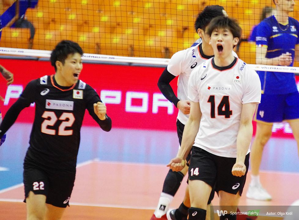 Liga Narodów: Japonia - Francja 1:3 (galeria)