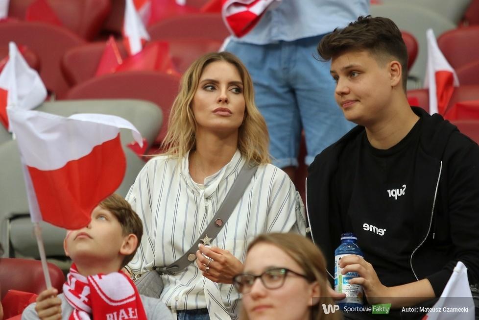 Kibice na PGE Narodowym podczas meczu Polska - Izrael (galeria)