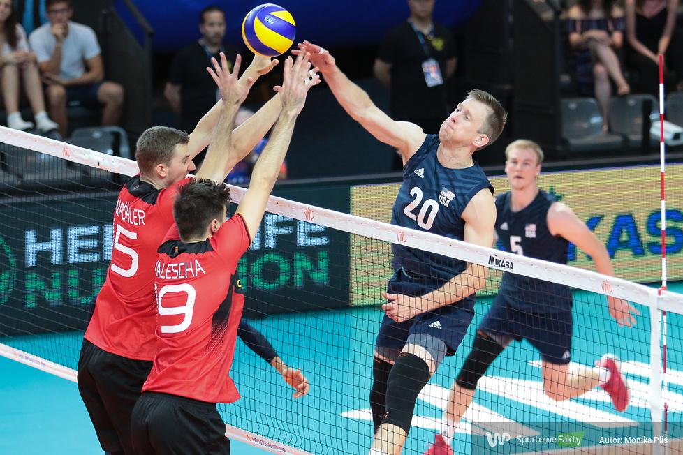 Liga Narodów: USA - Niemcy 3:1 (galeria)