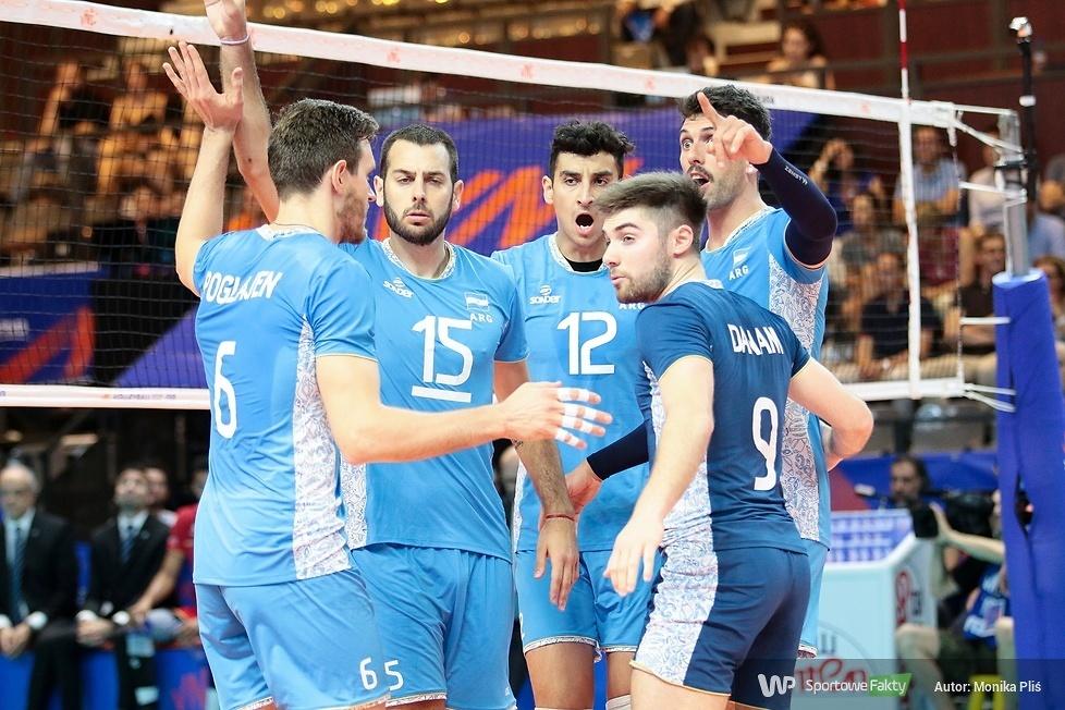 Liga Narodów: Francja - Argentyna 1:3 (galeria)