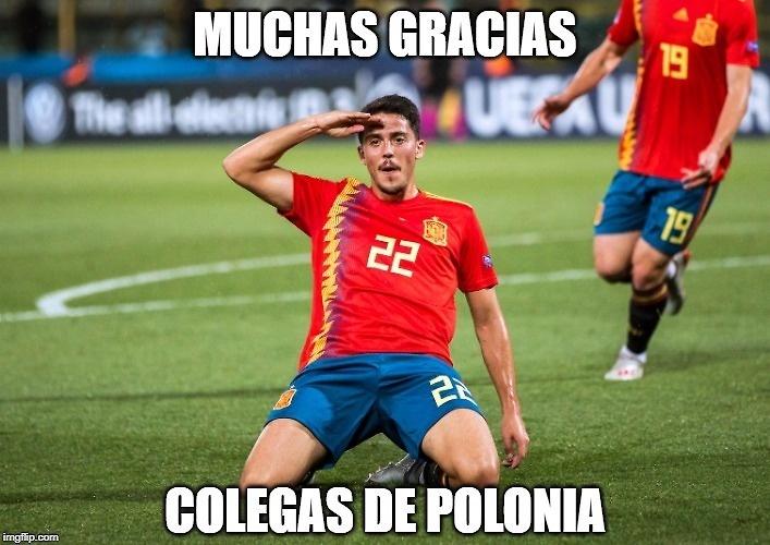 Mistrzostwa Europy U-21: Hiszpania - Polska.