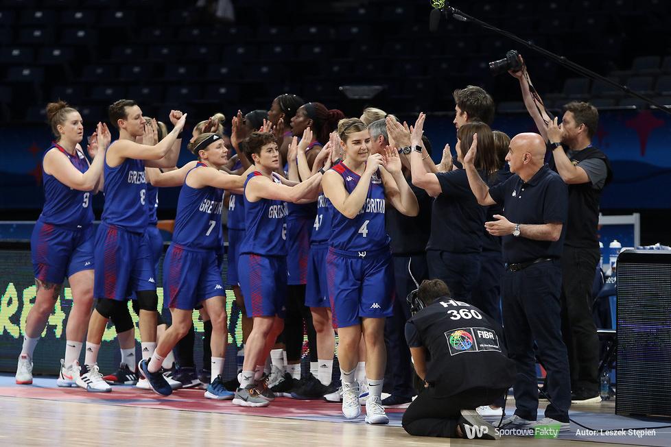 EBW 2019: Francja - Wielka Brytania 63:56 (galeria)
